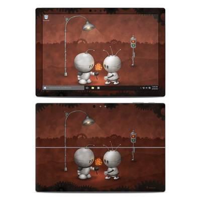 Microsoft Surface Pro 4 Skin - Robots In Love