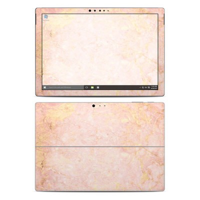 Microsoft Surface Pro 4 Skin - Rose Gold Marble