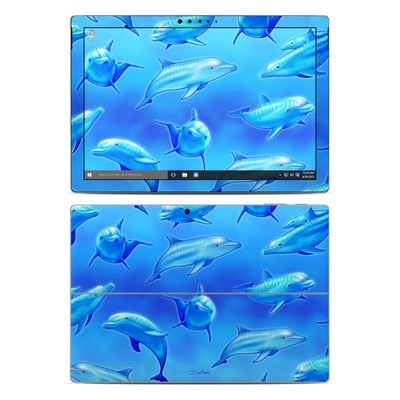 Microsoft Surface Pro 4 Skin - Swimming Dolphins