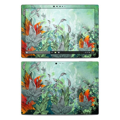 Microsoft Surface Pro 4 Skin - Sea Flora