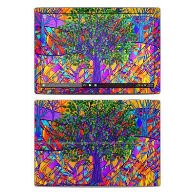 Microsoft Surface Pro 4 Skin - Stained Glass Tree