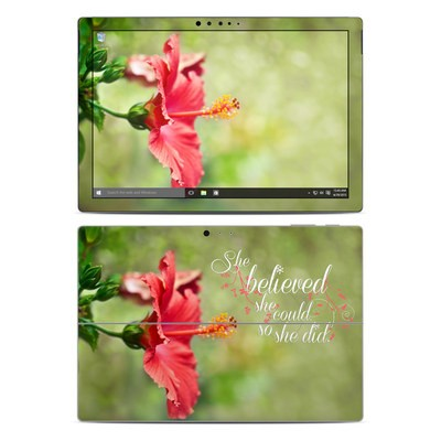 Microsoft Surface Pro 4 Skin - She Believed