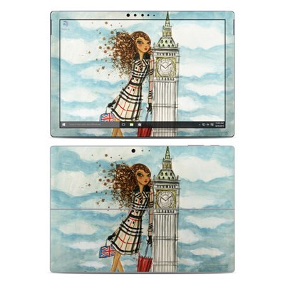 Microsoft Surface Pro 4 Skin - The Sights London
