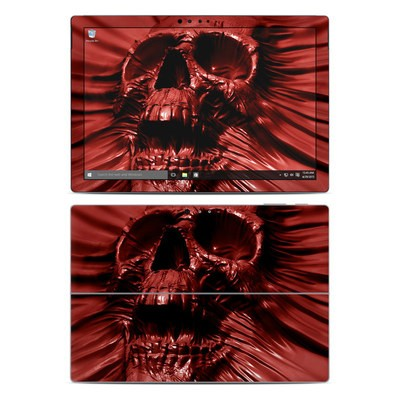 Microsoft Surface Pro 4 Skin - Skull Blood
