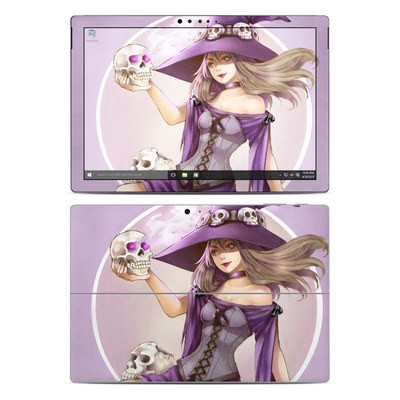 Microsoft Surface Pro 4 Skin - Skull Witch