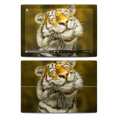 Microsoft Surface Pro 4 Skin - Smiling Tiger