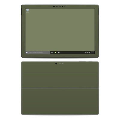 Microsoft Surface Pro 4 Skin - Solid State Olive Drab