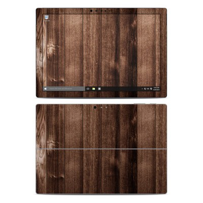 Microsoft Surface Pro 4 Skin - Stained Wood