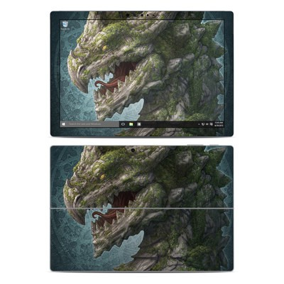 Microsoft Surface Pro 4 Skin - Stone Dragon