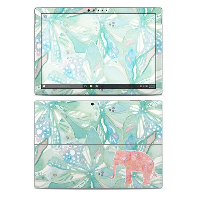 Microsoft Surface Pro 4 Skin - Tropical Elephant