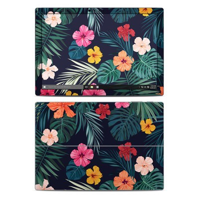 Microsoft Surface Pro 4 Skin - Tropical Hibiscus