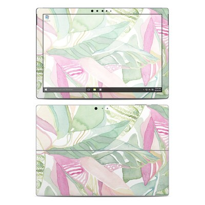 Microsoft Surface Pro 4 Skin - Tropical Leaves
