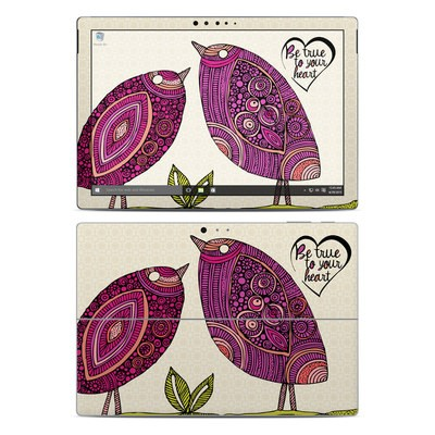 Microsoft Surface Pro 4 Skin - True Birds