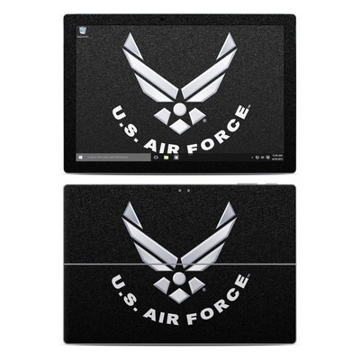 Microsoft Surface Pro 4 Skin - USAF Black