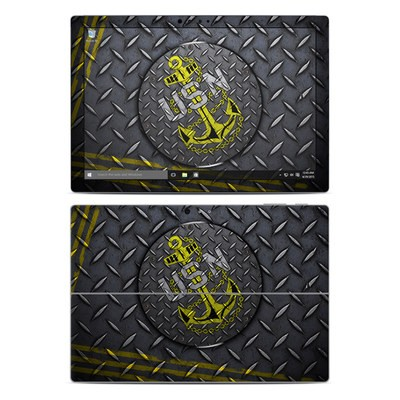 Microsoft Surface Pro 4 Skin - USN Diamond Plate