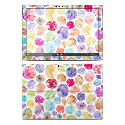 Microsoft Surface Pro 4 Skin - Watercolor Dots