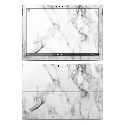 Microsoft Surface Pro 4 Skin - White Marble