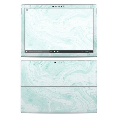 Microsoft Surface Pro 4 Skin - Winter Green Marble