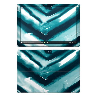 Microsoft Surface Pro 4 Skin - Watercolor Chevron