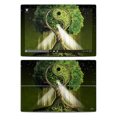 Microsoft Surface Pro 4 Skin - Yin Yang Tree