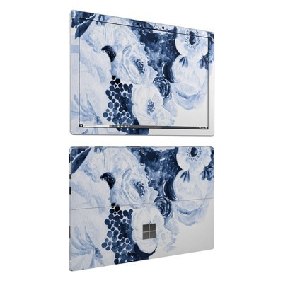 Microsoft Surface Pro 6 Skin - Blue Blooms