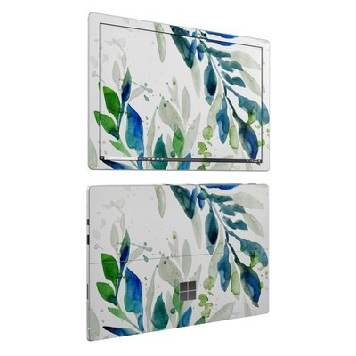 Microsoft Surface Pro 6 Skin - Floating Leaves