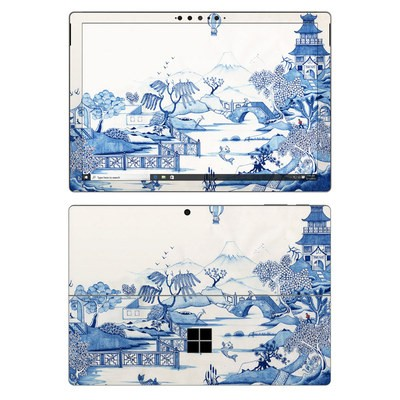 Microsoft Surface Pro 7 Skin - Blue Willow