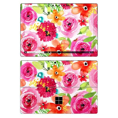 Microsoft Surface Pro 7 Skin - Floral Pop