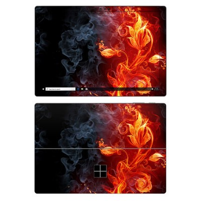 Microsoft Surface Pro 7 Skin - Flower Of Fire