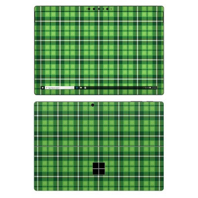 Microsoft Surface Pro 7 Skin - Kelley Plaid