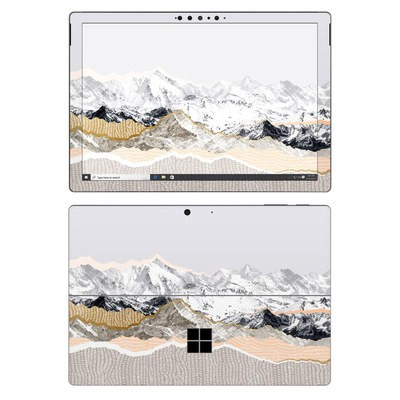 Microsoft Surface Pro 7 Skin - Pastel Mountains