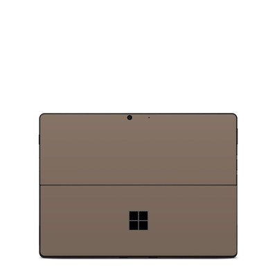 Microsoft Surface Pro X Skin - Solid State Flat Dark Earth