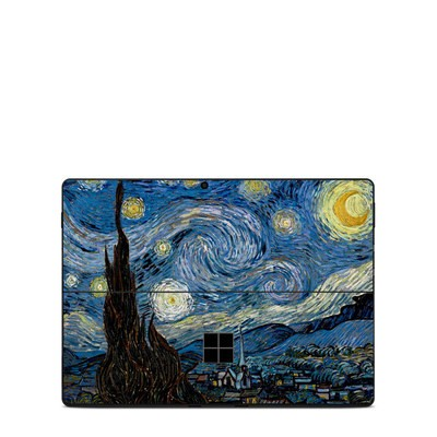 Microsoft Surface Pro X Skin - Starry Night