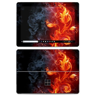 Microsoft Surface Go Skin - Flower Of Fire