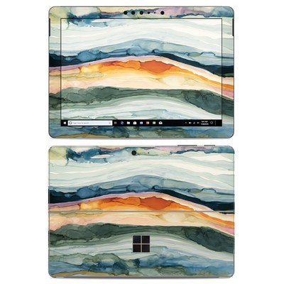 Microsoft Surface Go Skin - Layered Earth