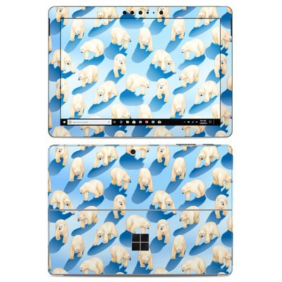 Microsoft Surface Go Skin - Polar Bears