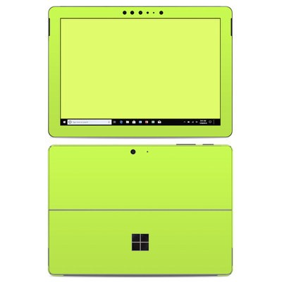 Microsoft Surface Go Skin - Solid State Lime