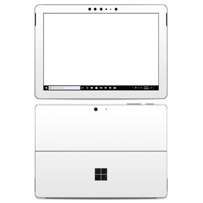 Microsoft Surface Go Skin - Solid State White