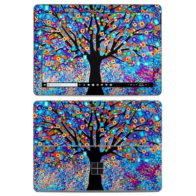 Microsoft Surface Go Skin - Tree Carnival
