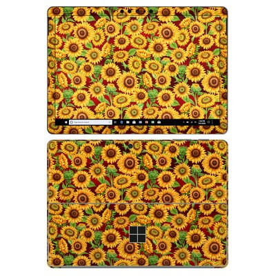 Microsoft Surface Go 2 Skin - Sunflower Patch