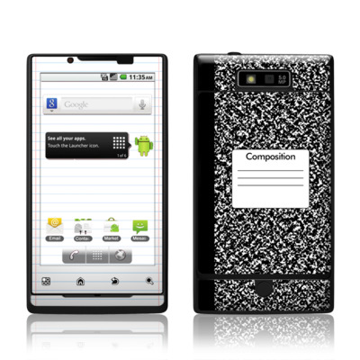 Motorola Triumph Skin - Composition Notebook