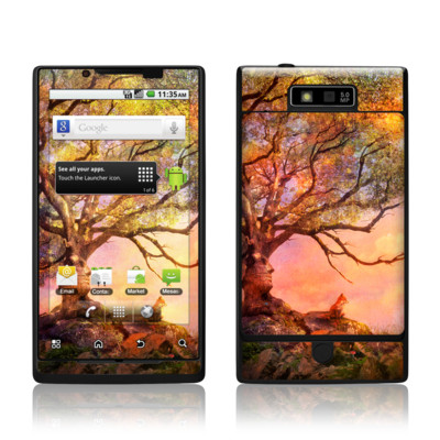 Motorola Triumph Skin - Fox Sunset