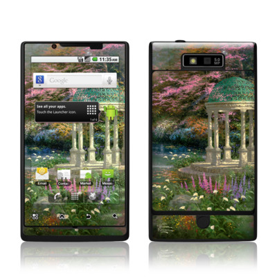 Motorola Triumph Skin - Garden Of Prayer