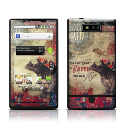 Motorola Triumph Skin - Leap Of Faith