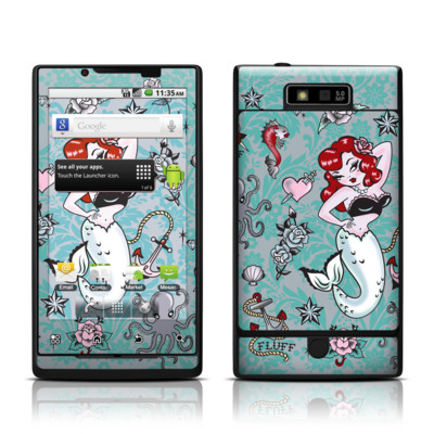 Motorola Triumph Skin - Molly Mermaid