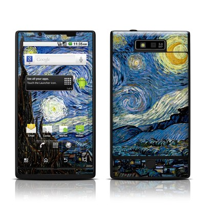 Motorola Triumph Skin - Starry Night