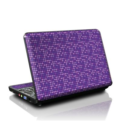 MSI Wind U100 Skin - Dots Purple