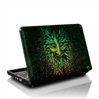 MSI Wind U100 Skin - Greenman