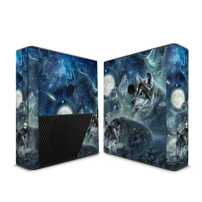 Microsoft Xbox 360 E Skin - Bark At The Moon