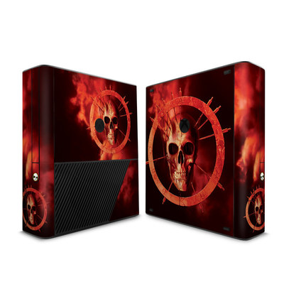 Microsoft Xbox 360 E Skin - Blood Ring
